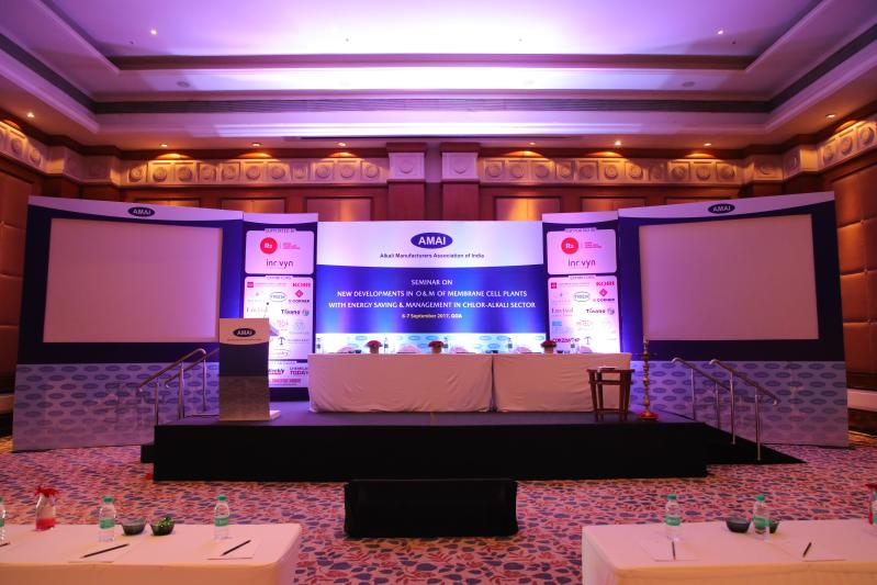 AMAI Conference setup by Event 360